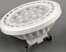 Светодиод пластмассовую крышку алюминиевых AR111 175-265V 12W фонаря направленного света