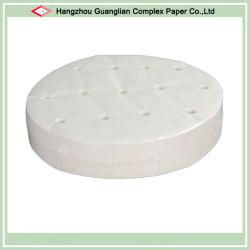 Silicone certifié FDA personnalisés traités cuiseur vapeur Papier Papier Dim Sum
