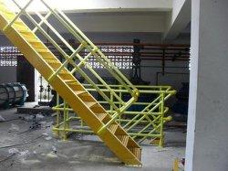 Le PRF/profils Pultrusion clôture en fibre de verre pour les escaliers et rampes