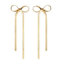 Amazon top vendeur 2019 Boho Déclaration Feather Long Tassel Rosette Earring