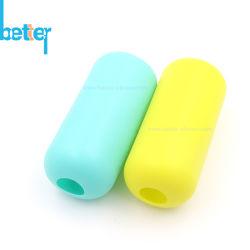 관례 BPA는 열 절연제 실리콘 아기 유리제 물병 소매를 해방한다