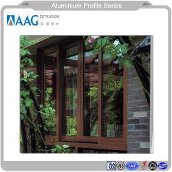 De Australische StandaardHigh-End Deur van het Aluminium met Dubbel Verglaasd Glas en Norm As2047