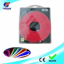 SMD 2835 Impermeable IP68 12V el tubo de goma de silicona suave 6*12mm las tiras de LED Neon