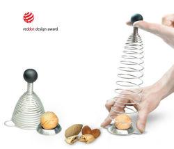 De Hulpmiddelen Nussknacker van het Gadget van de Keuken van de Cracker van de Noot van de Okkernoot van het roestvrij staal