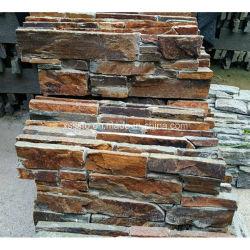 Natürliche Quarzit Wand Verkleidung Schiefer Kulturstein Aus China