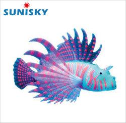 La imitación Material de silicio de pescado pescado falso