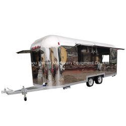 Airstream de acero inoxidable cocina barbacoa Sandwich carretilla