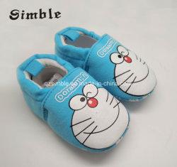 Semelle doux chaleureux belle caricature de fantaisie bébé nouveau-né des chaussures de bébé