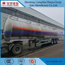 3 기름 또는 연료 또는 디젤 또는 가솔린 또는 원료 또는 물 또는 우유 수송을%s 차축 30000L/40000L/50000L 탄소 강철 또는 스테인리스 또는 알루미늄 합금 탱크 또는 반 유조선 트레일러