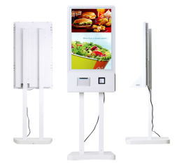 Напольные терминалом самообслуживания с сенсорным экраном оплату телефонных счетов ЖК сенсорный экран интерактивных киосков для самостоятельной службе заказ продуктов питания Питание автомат