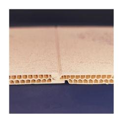 À prova de painel de madeira esculpida decorativos para parede interior PVC Wallpanel cep
