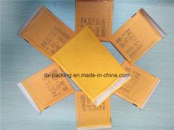 Bulle d'enveloppe kraft sac jaune