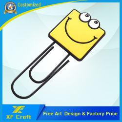 Специализированные ПВХ резиновые Craft школы моды книги марка Логотип Debossed мультфильмов студентов сувенирные наклейки для ноутбука (подарок для продвижения XF-BM09)