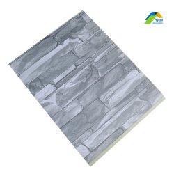 Pannello Di Rivestimento per parete in PVC 3D integrato per decorazione domestica