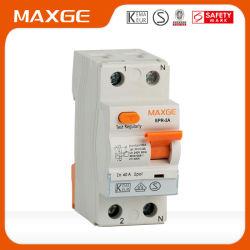 Kema VDEの証明のEPR2 16A-80A 2p/4p 6ka/10kaの残りの現在の回路ブレーカRCCB