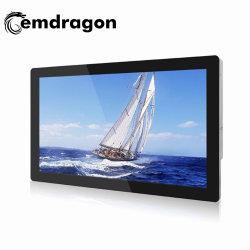 赤外線広告プレーヤー超薄壁取り付け 32 インチ LCD 広告プレーヤー FHD デジタル写真フレーム広告プレーヤー ISO9001 標準 LCD デジタルサイネージ