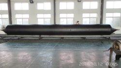 Sacco ad aria di lancio di sollevamento pesante gonfiabile della nave della gomma naturale