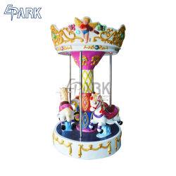 Piscina 3 Assentos Mini Carrossel do parque de diversões infantil Passeio a Cavalo