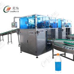 Entièrement automatique Hand Sanitizer détergent d'huile liquide Flacon de poudre de lait de thé l'ouverture de la Boxe Machine d'emballage carton