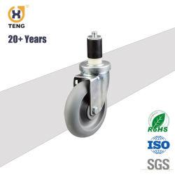 Het rubber Wiel van de Gietmachine van de Stam van de Adapter/van de Gietmachine van de Wartel Pu