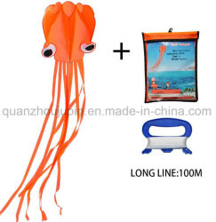 Oem High Quality En71 Polyester Folding Octopus Kite