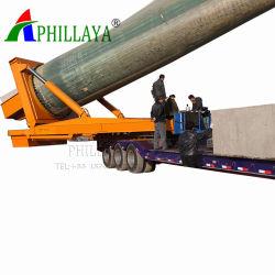 바람 터빈 또는 Trcuk 트레일러 (05)를 위한 바람 터빈 탑 수송 세미트레일러 또는 수송