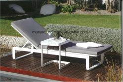 Кровать для использования внутри помещений садовой мебелью из алюминия шезлонге лежа кровать