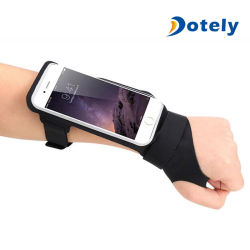 L'exécution de Sport de la bande de bras de support de téléphone de poche