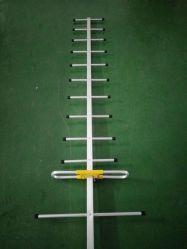 Fábrica de China- en el exterior 12-25 dBi direccional de 470MHz -862MHz Antena Yagi para 12elemento