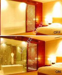 OEM 호텔 방 장식적인 품목 안전 바꿀 수 있는 프라이버시 유리