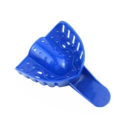 Plástico de calidad Premium Dental Autoclavable Bandeja de impresión