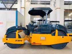 8-10 トン 2 輪タンデム静的ロードローラー( 2YJ8/10 )