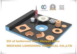 Examens de base de douche salle de douche mince jeter