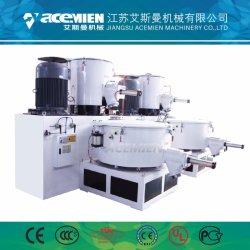 Производитель пластиковых ПВХ порошок высокой скорости электродвигателя смешения воздушных потоков