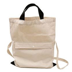 Saco de lona sacola personalizada Teen Ombro Sacola de Compras com o botão