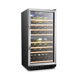Prateleiras de madeira removível Vinho de refrigeração do ventilador do compressor frigorífico