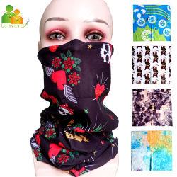 Les produits promotionnels Polyester multifonctionnelle Bandana Bandanas sèche tie de la tête de l'impression personnalisée