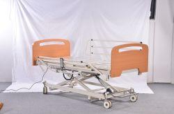 La meilleure qualité de l'hôpital à trois fonctions d'alimentation électrique de lit de soins à domicile Les soins infirmiers