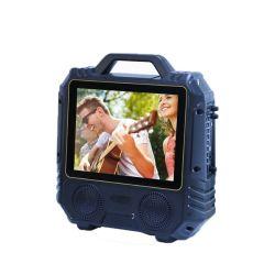 4-дюймовый передвижной цифровой внешних караоке ТВ ЖК-дисплей Audio Player Speake