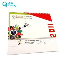 Monatlicher Vollfarbdruck Im Schreibtischkalender