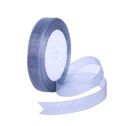 100% Polyester-Organza-Farbband, Samt-Farbband, Grosgrain-Farbband, verwendet für Hochzeits-Zeremonie-Dekoration, Weihnachtsgeschenk-Kasten, Produkt-Verpacken