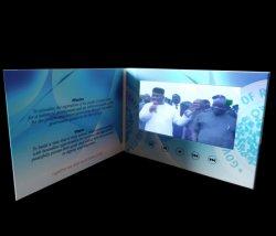 cartolina d'auguri dello schermo dell'affissione a cristalli liquidi 10inch video