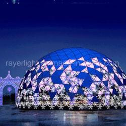 크리스마스 옥외 큰 축제 LED 점화 주제 공 거리 훈장