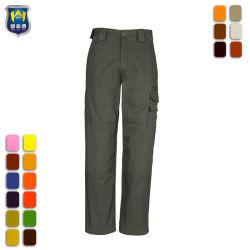 Commerce de gros Pantalon de travail du fret à armure sergé de coton