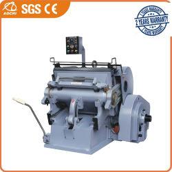 Etiqueta de papel ondulado Ml-Series Die Corte e dobra a máquina com marcação CE