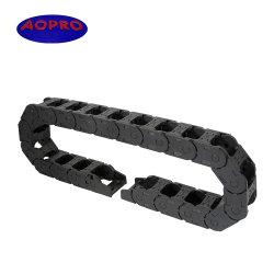Operador de cable de plástico flexible de la cadena de arrastre de accesorios para máquinas herramientas CNC