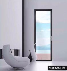 Portello Bifold di alluminio di profilo di vetro insonorizzato di formato standard del commercio all'ingrosso della fabbrica da 17 anni che piega lo schermo piegante di Windows