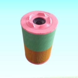 Pièces 1613740800 comprimé du compresseur de l'élément de la cartouche de filtre à air d'aspiration