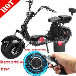 Fat Tire Electric Motorcycle Scooters Ville Bike Scooter avec alarme et commande à distance en un clic