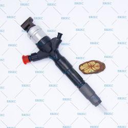 095000-5250 Inyector Erikc pompe diesel common rail DENSO véritable injecteur de carburant 095000-5255 8976024852 OEM pour Toyota Hiace Hilux 2,5 D 2kd-Ftv